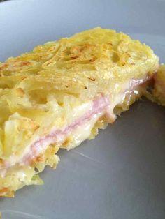 Croque monsieur de pomme de terre - Rachel et sa cuisine légère et gourmande