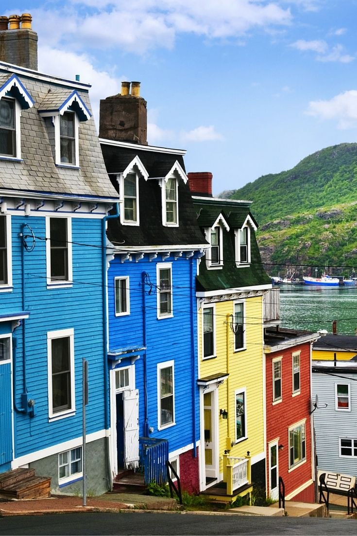 St. John's, Newfoundland, Canada! This post will not contain industrial soot stained cities; instead it showcases some of the most vibrant looking cities in the world. Click through to see some of the most colorful cities in the world!