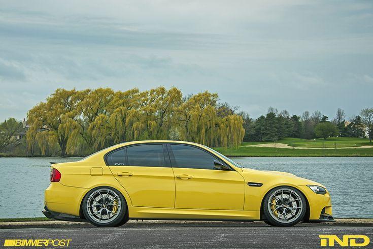 Improving Perfection: Powerbeast's Dakar Yellow BMW E90 M3 Individual - BMW M3 Forum (E90 E92)