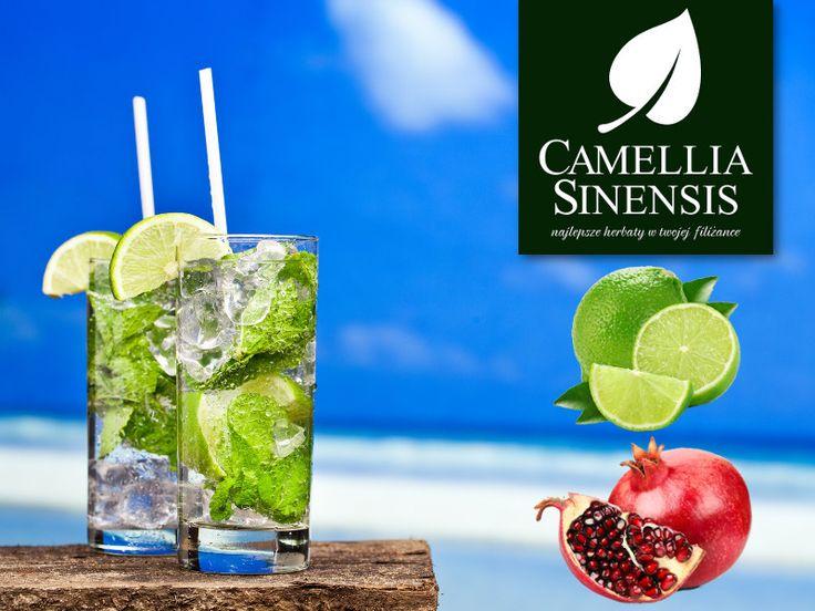 Nasza Herbata Owocowa: Granat & Limonka. Słoneczne kolory są dominujące w tej mieszance owocowej i mają swoje źródło wśród różnych owoców egzotycznych. Żwawy, orzeźwiający smak, ożywi ducha i wywoła uśmiech na twojej twarzy. Sprawdź koniecznie. Idealna również jako letnia IceTea na upalne dni.