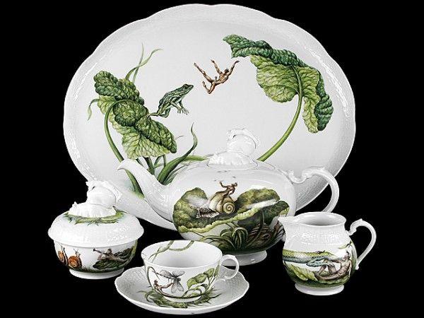 Yeni Model Porselen Çay Takımlarını İzlerken Sıcak Bir Çay Yanında İyi Gider, Misafir ağırlarken Şık Modern Çay Takımları, Çiçekli Rengarenk Beğeneceğinizi Umduğum Çay Takımları