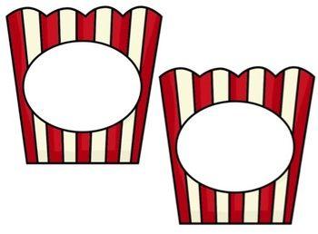 star classroom theme ideas | ... Popcorn and Star Word Themes - kindertrips - TeachersPayTeachers.com