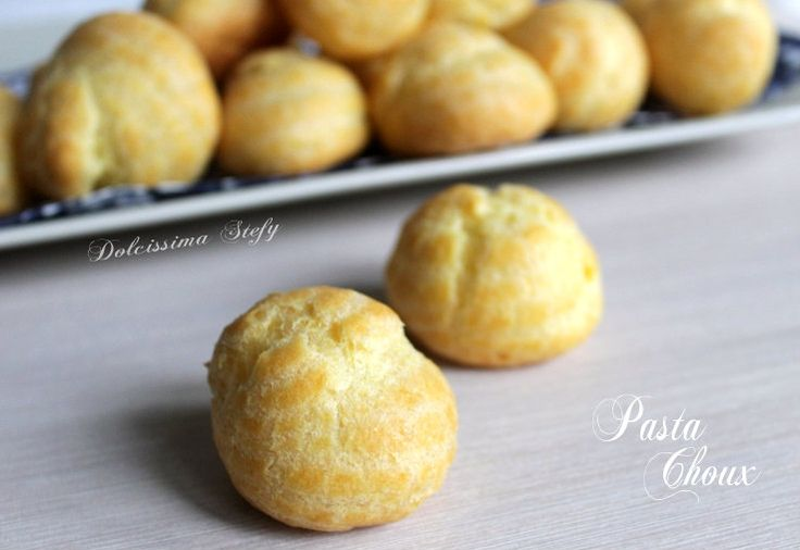 Pasta Choux ricetta base per bignè