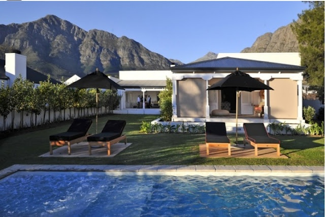 The pinnacle of sophisticated 'home away from home' comfort and the 'hottest' luxury accommodation option in the historical Winelands village