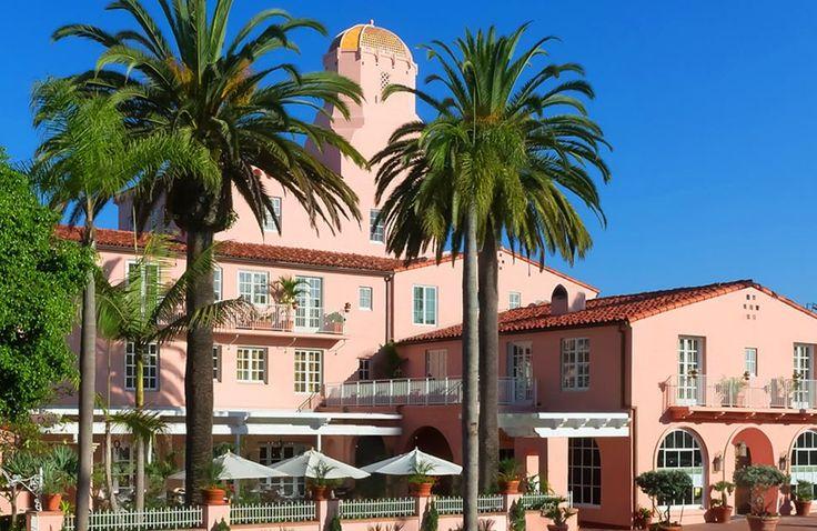 La Valencia Hotel. La Jolla, CA - since 1926.