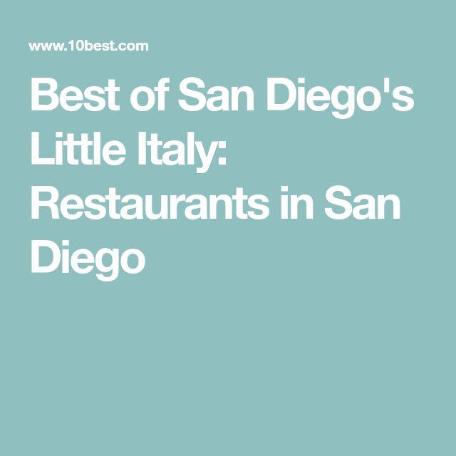 Best of San Diego's Little Italy: Restaurants in San Diego