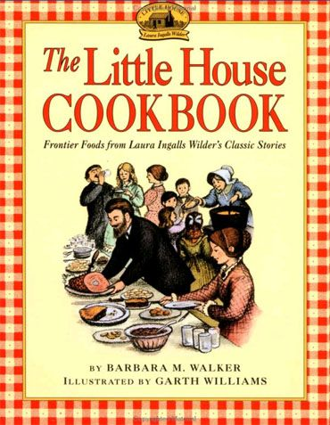 Little House on the Prairie Green Pumpkin Pie with The Little House Cookbook