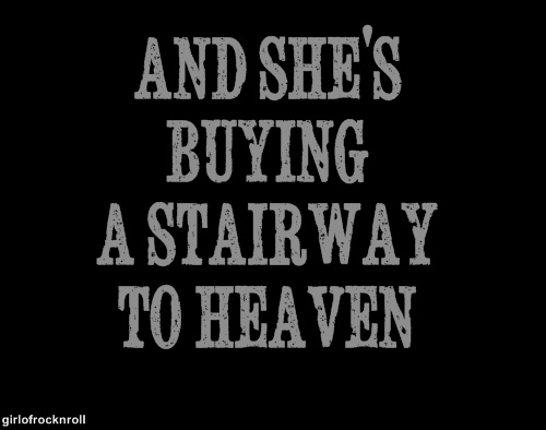 Led Zeppelin. Stairway to Heaven