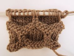 Learn how to knit 'the hive' | We Are Knitters Blog