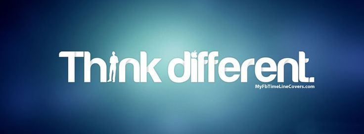 I Am Different Facebook Cover Think different Facebo...