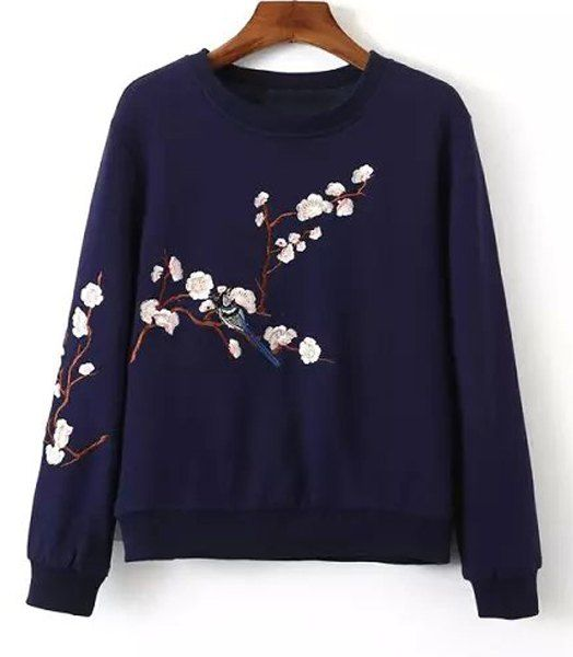 $17.44 Sweater with pretty detail.