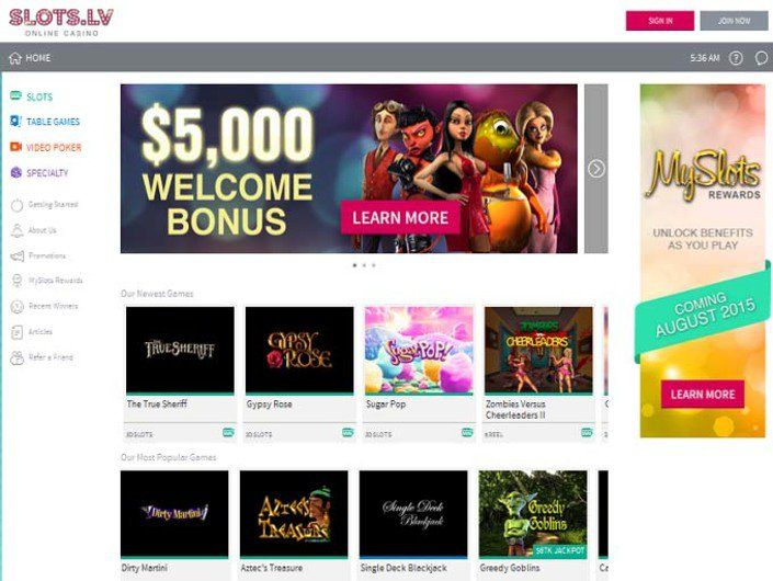 Slots Lv Casino Review With Images Online Casino Casino