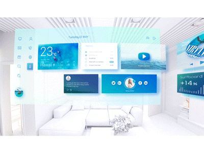 Fluent Design VR desktop by Daz_Qu - Dribbble