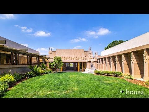 Stunning Video Inside and Outside the Frank-Lloyd-Wright-Designed Hollyhock House - Core77