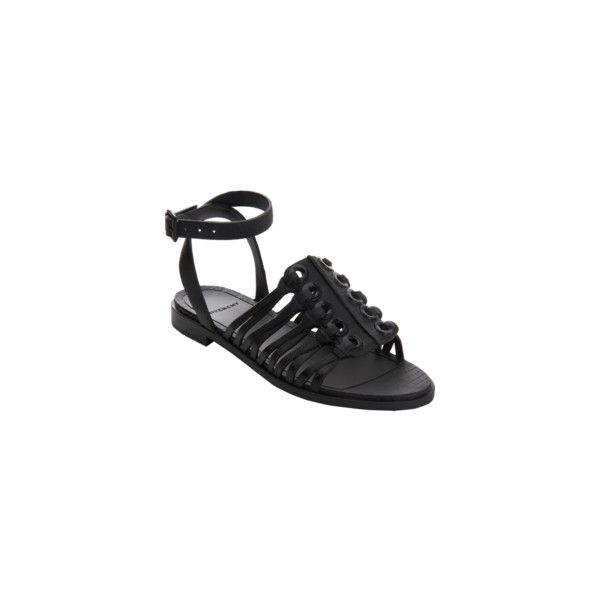 Givenchy Embossed Rubber Grommet Sandal ❤ liked on Polyvore featuring shoes, sandals, rubber sandals, embossed shoes, givenchy shoes, rubber shoes and grommet shoes