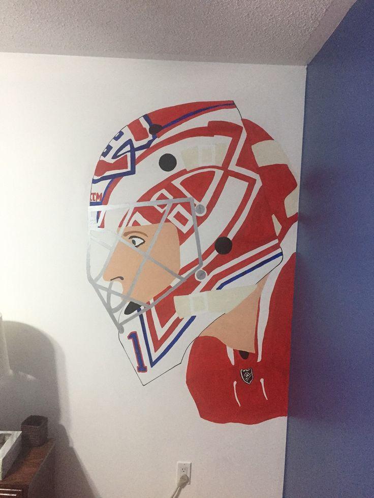 Hockey themed bedroom