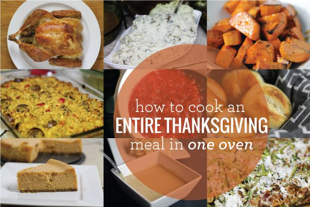 How to Cook An Entire Thanksgiving Meal In One Oven. Time management for thanksgiving dinner #thanksgivingschedule