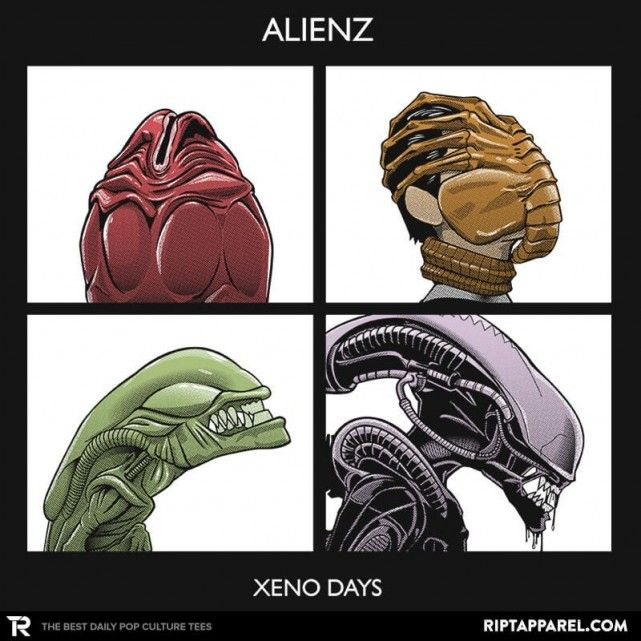 Xeno Days T-Shirt - Aliens T-Shirt is $11 today at Ript!