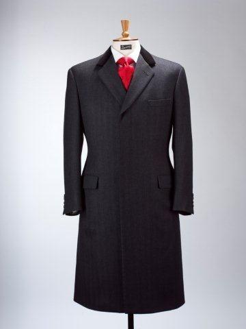 Henry Poole & Co - Savile Row Bespoke- covert coat