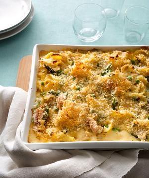 Tuna Noodle Casserole With Asparagus recipe