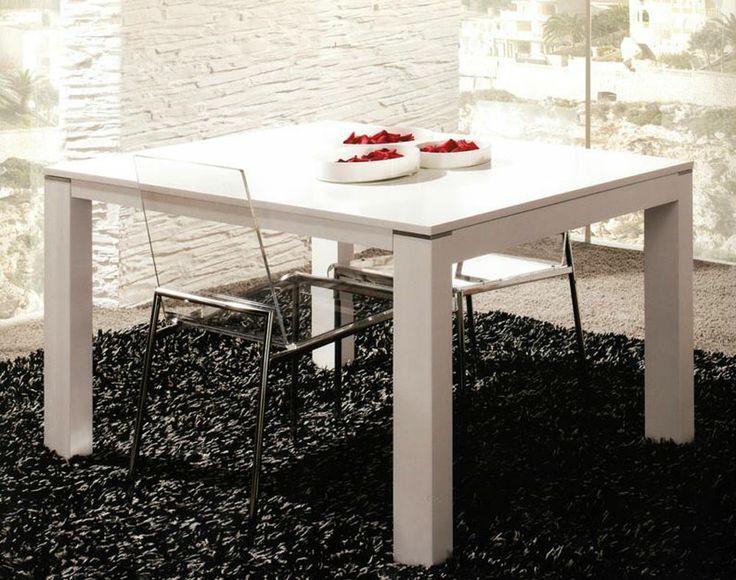 """Обеденный стол """"Nok"""" производства испанской фабрики """"Mobenia"""". Массив бука окрашенный. Размеры стола - 140х90х74h, раскладывается -> 240. Розничная стоимость была - 1350, сейчас - 450"""