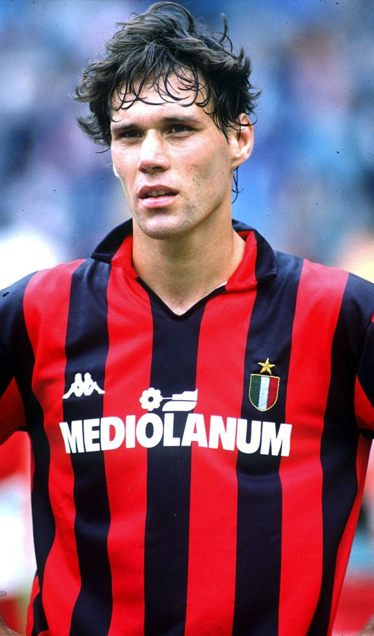 Marco van Basten during his career at FC Milan, ca. 1988/89