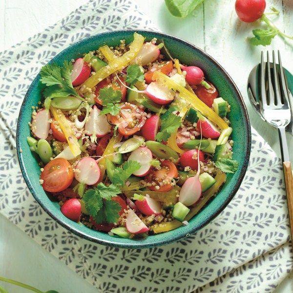 Quinoasalade met groente: voor 3 ProPoints waarden #SnelKlaar #WeightWatchers #WWrecept