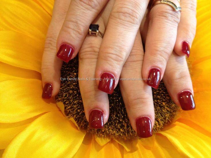 Full set of acrylic on bitten nails and gel polish | Nail by NaiI ...