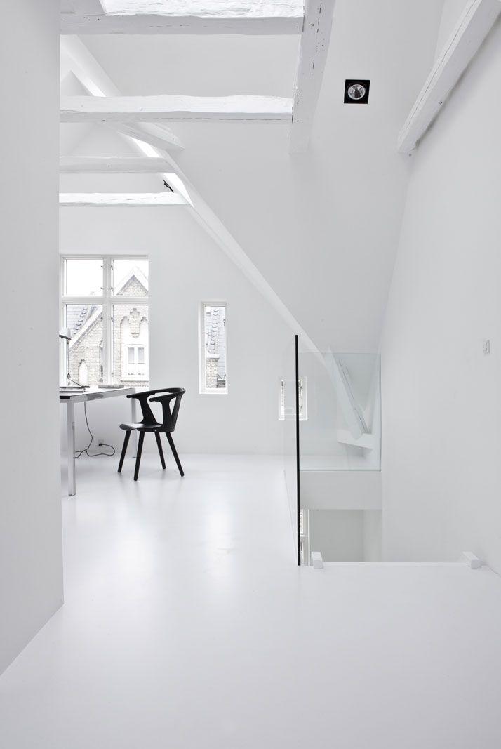 A Black & White Townhouse by Norm Architects In Copenhagen, Denmark   http://www.yatzer.com/norm-architects-copenhagen