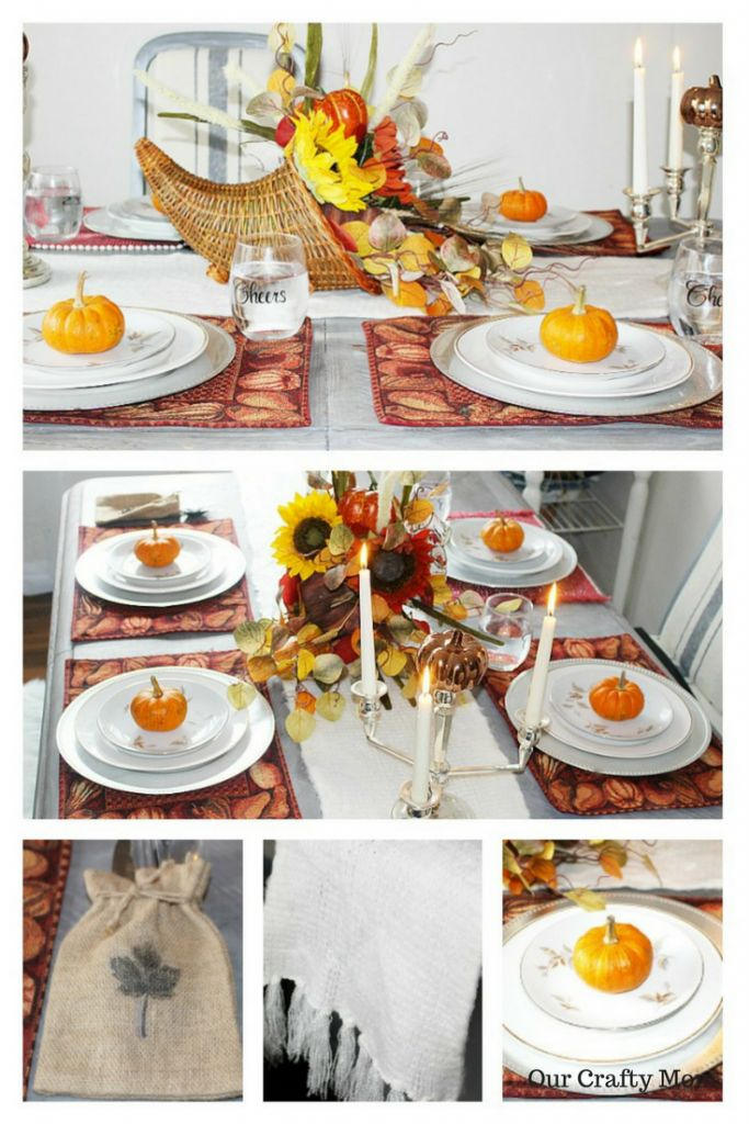 Thanksgiving Tablescape Ideas-23 Bloggers Share Ideas | Our Crafty Mom