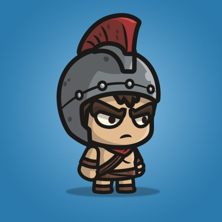 Spartan Knight with Spear