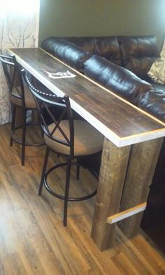 1000 Ideas About Bar Behind Couch On Pinterest Media
