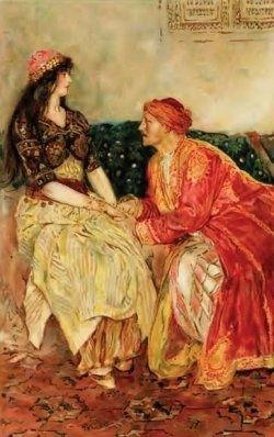 Наставления матери Шахеризаде о правилах общения с мужчиной