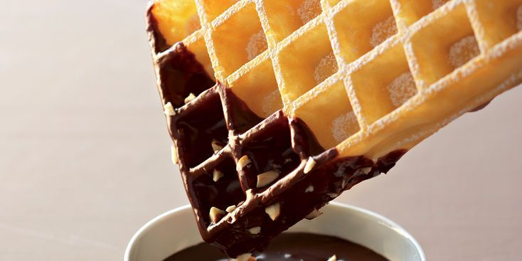 Gaufre chocolat noisettes