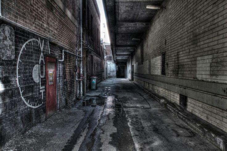 An alleyway in Bendigo