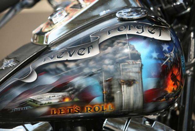 American Flag Motorcycle Paint Jobs Custom Painted