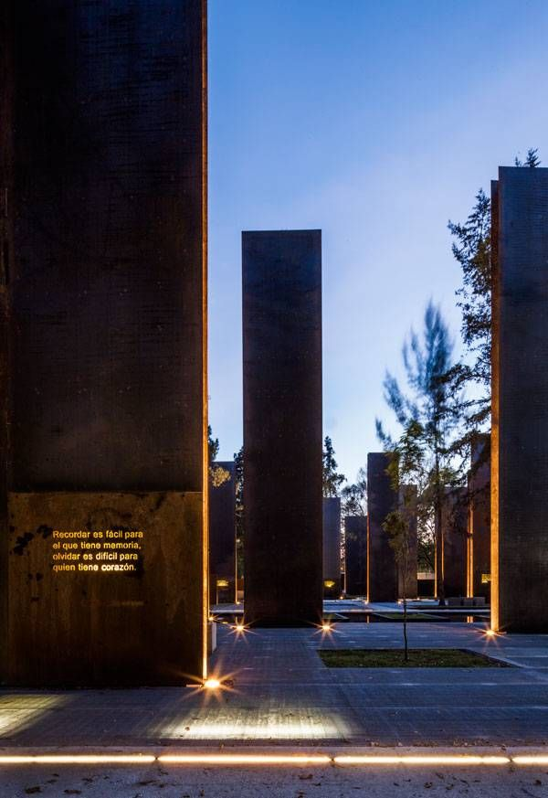"""I pinned the Memorial to Victims of Violence as my """"WOW! That's Landscape Architecture?"""" because I never knew that they design memorials. I felt that it is a place that many go to remember, to reflect, to appreciate. There is something about a design that people can interact with it in not only a scenic, but a truly personal way."""