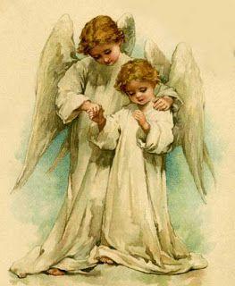 Engelen Divine | Beelden voor Decoupage