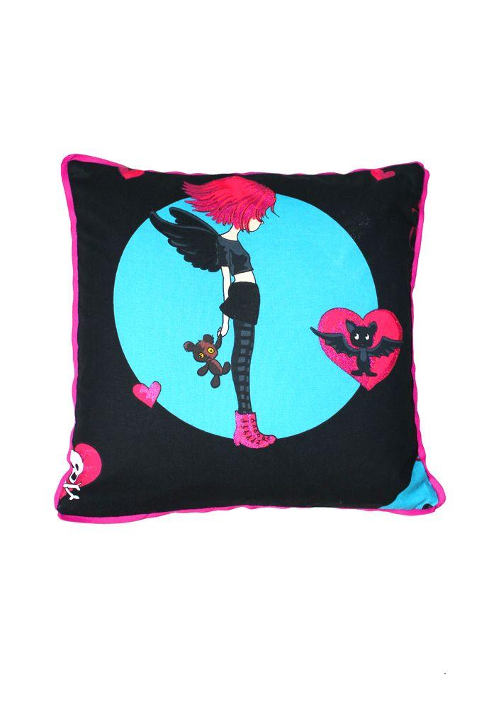 The decor pillow, handmade by Rekoko. Visit www.rekoko.pl