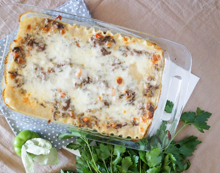 This Creamy Tomatillo Lasagna spices up the classic with tangy tomatillos, spicy serrano pepper, and a homemade béchamel sauce for a dish that you will want to make again and again.
