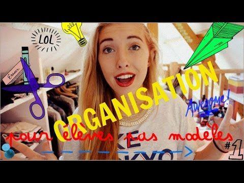 BACK TO SHCOOL : ORGANISATION (pour élèves pas modèles) - YouTube