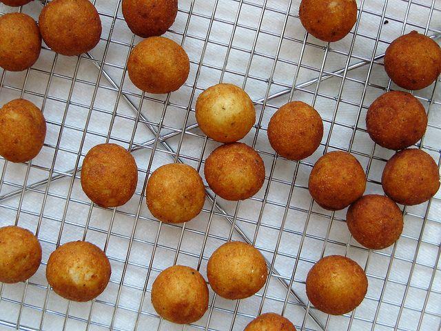 fried chilean potato puffs (papas duquesas) -- gluten free, recipe, appetizer, snack
