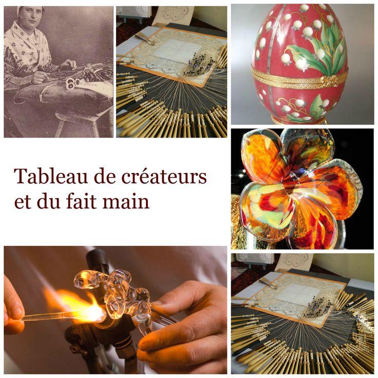 Création faite main, savoir-faire et tradition