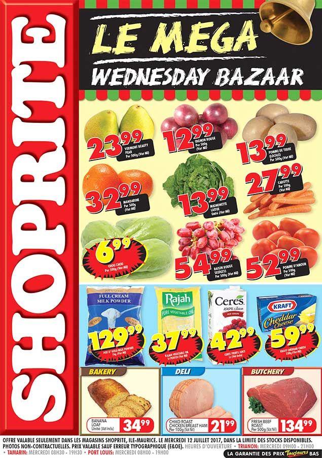 Shoprite Hyper Le Mega Wednesday Bazaar Trianon Tamarin Port Louis 12 Juillet 2017 Rainbow Layer Cakes Fish And Chicken Shoprite
