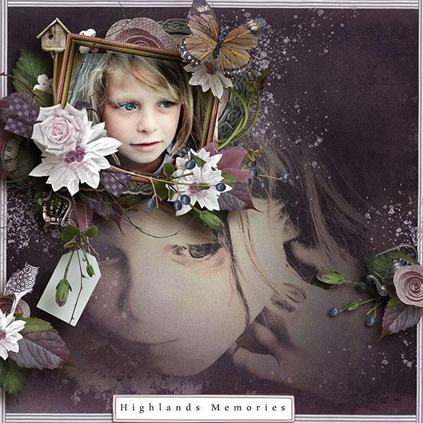 Digital Art :: Element Packs :: Highlands [Elements] by butterflyDsign