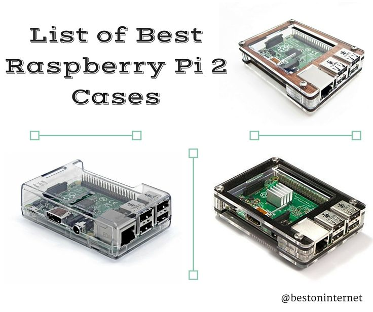 List of Best #RaspberryPi 2 Cases  http://www.bestoninternet.com/compute/electronics/raspberry-pi-bplus-and-pi-2-cases/  If you want to keep your raspberry pi clean and safe then the raspberry pi case will be the best choice. Cases will give the cool look of raspberry pi 2.