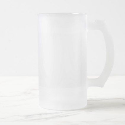 Template diy Add text photo change color Frosted Glass Beer Mug - anniversary cyo diy gift idea presents party celebration