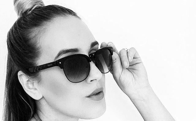 Instagram user Kellin, rocking the all black Treyca Clubmaster sunglasses. #Treyca #Sunglasses