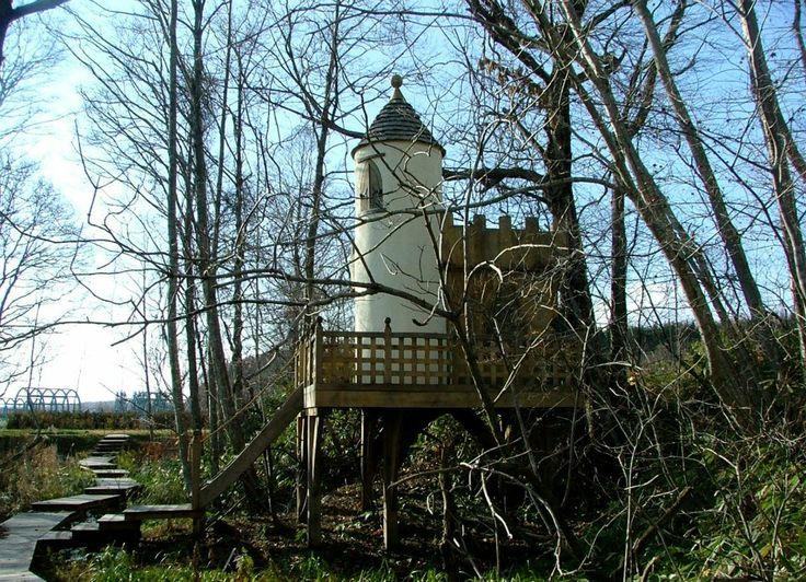 Fairy Castle Tree House By Richard Foxcroft