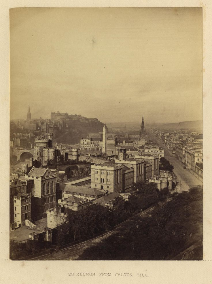 "https://flic.kr/p/22Yx1tY | Archibald Burns - Edinburgh From Calton Hill,1868 | Maker: Archibald Burns (1831-1880) Born: Scotland Active: Scotland Medium: albumen print Size: 3 1/8"" x 4 1/8"" Location:   Publication: R.M. Ballantyne, Photographs of Edinburgh, Andrew Duthie, Glasgow, 1868, pg 19  Other Collections:  Notes:   To view our archive organized by Collections, visit: OUR COLLECTIONS  For information about reproducing this image, visit: THE HISTORY OF PHOTOGRAPHY ARCHIVE"